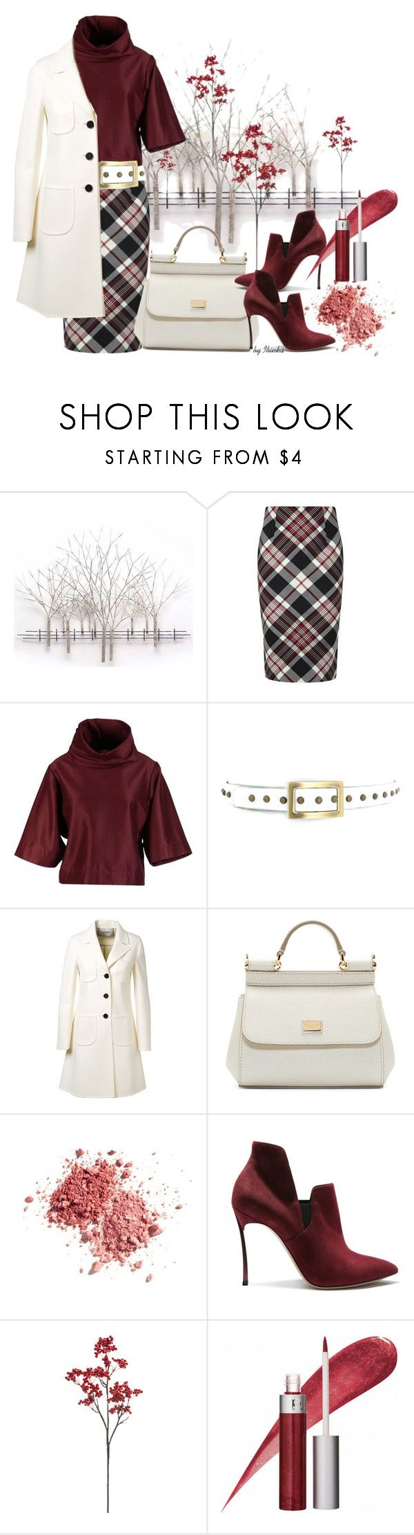 Fall Look by ibinka on Polyvore featuring STELLA McCARTNEY, Valentino, Alexander McQueen, Casadei, Dolce&Gabbana, Mineral Essence and Home Decorators Collection