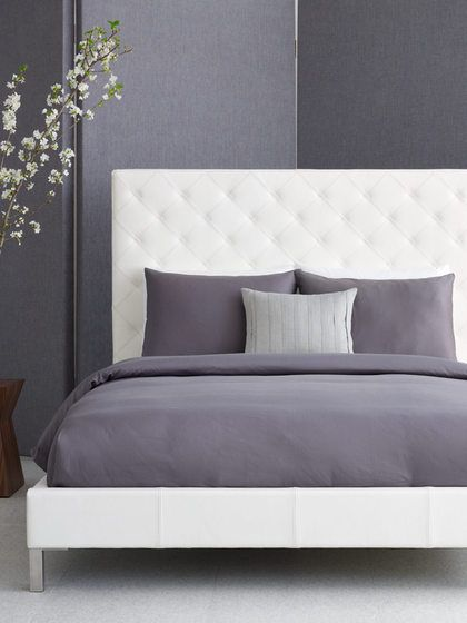 Lyndon Leather Bed by W Hotels at Gilt