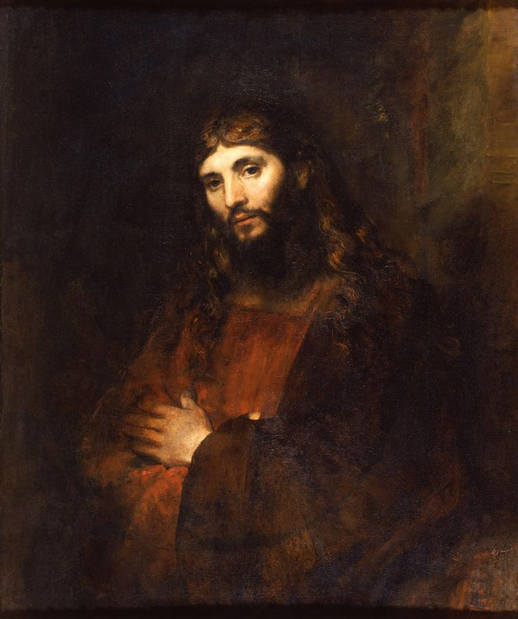 Rembrandt - Christ with Arms Folded (1661)