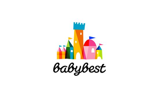 baby best brand identityand logo