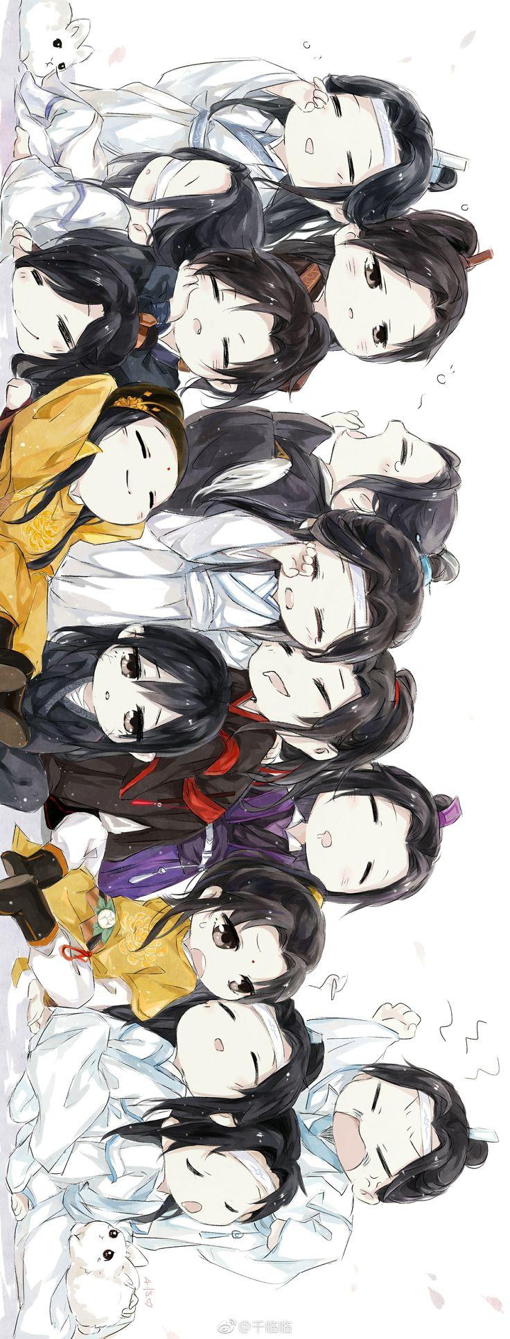 The whole crew (Dengan gambar) Anime anak lakilaki