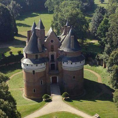 château de Rambures. Picardie