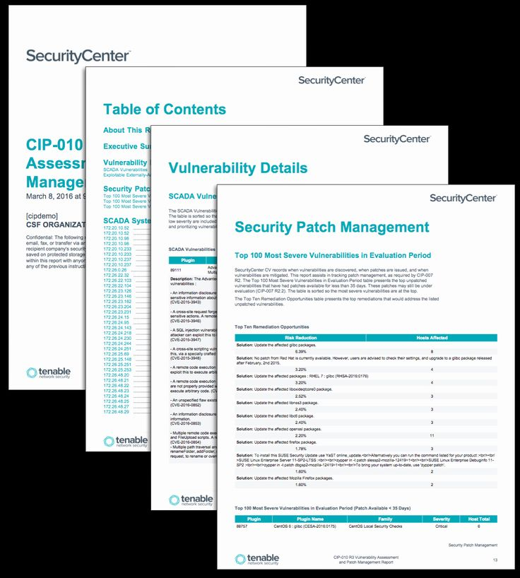 30 Security assessment Plan Template in 2020 Patch