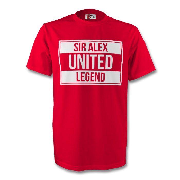 Sir Alex Man Utd Legend Tee (red) - Kids #Sport #Football #Rugby #IceHockey