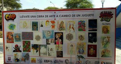 MOTIVADORES VOLUNTARIOS POR LAS ARTES BÁSICAS: JOVENES ARTISTAS PERUANOS: Cambian su Arte por Jug...