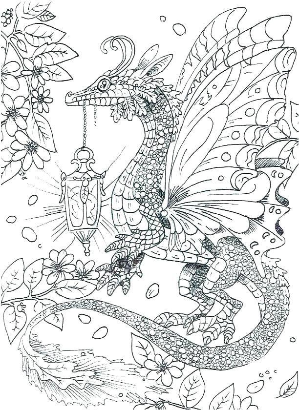 Dragon Coloring Pages For Adults Best Art Projects Malvorlagen Malbuch Vorlagen Kostenlose Ausmalbilder