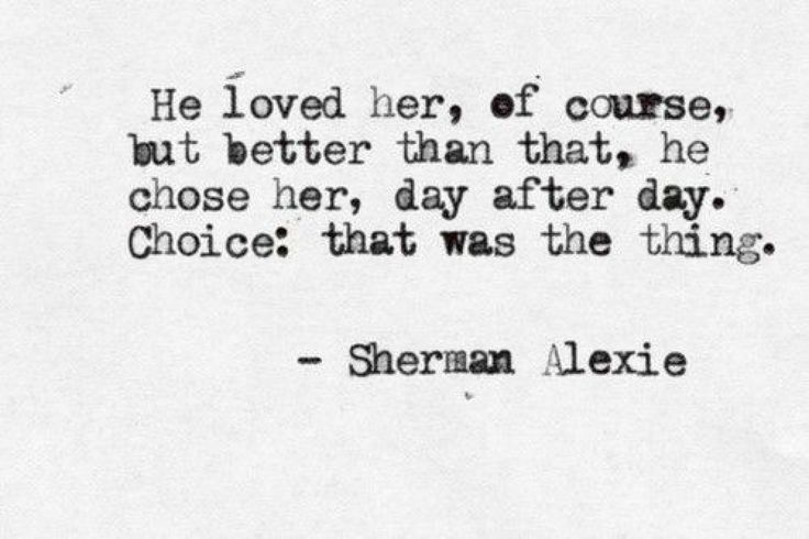 When he chooses other things over you, that is NOT an expression of love