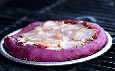 Beets pizza dough...yeah! Purple pizza dough #beets #dough #weird