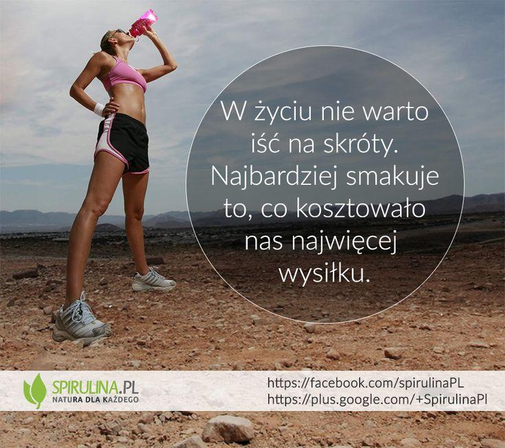 Jeśli w sukces włożymy ciężką pracę, to satysfakcja z jego osiągnięcia będzie zdecydowanie większa. http://www.spirulina.pl/