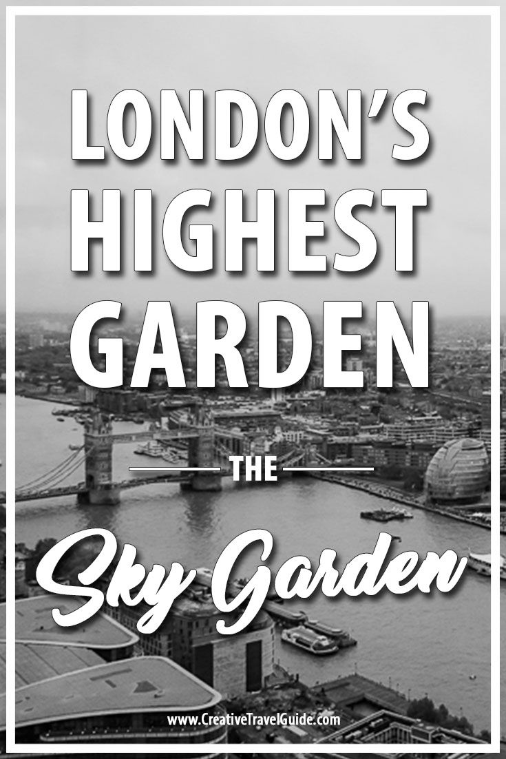 Located just a short walk from the Tower of London and Tower Bridge, the Sky Garden offers panoramic views of London's greatest landscapes and architecture.