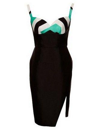 NICOLA FINETTI bra dress with side split #wewantplussize