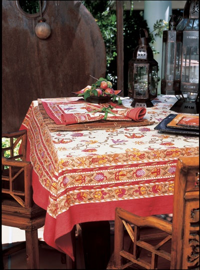 French Country Table Cloth
