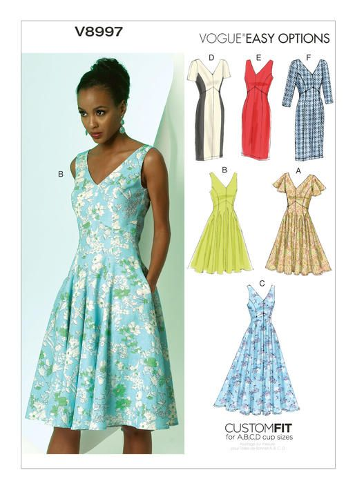 Custom Fit   Vogue Patterns   Custom Cup Sizes