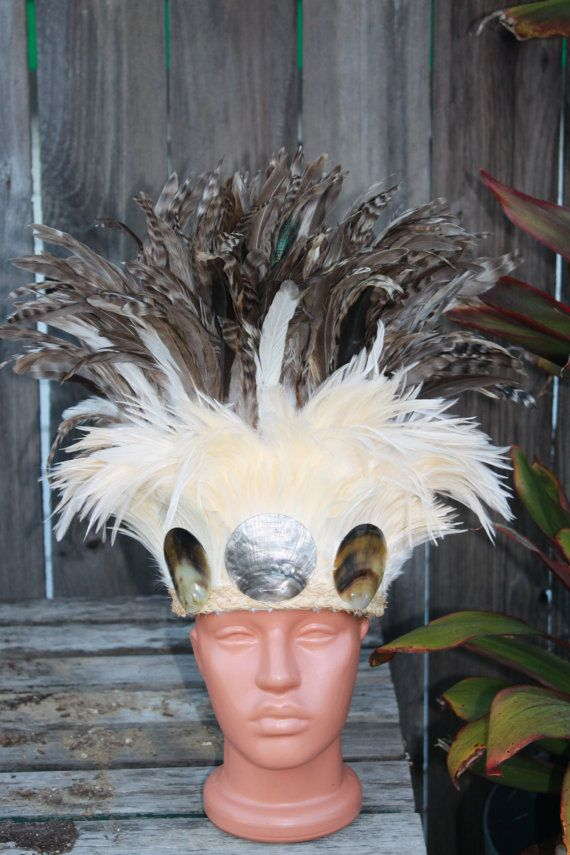 Colores marrón y natural casco tocado traje de por islandcostumes