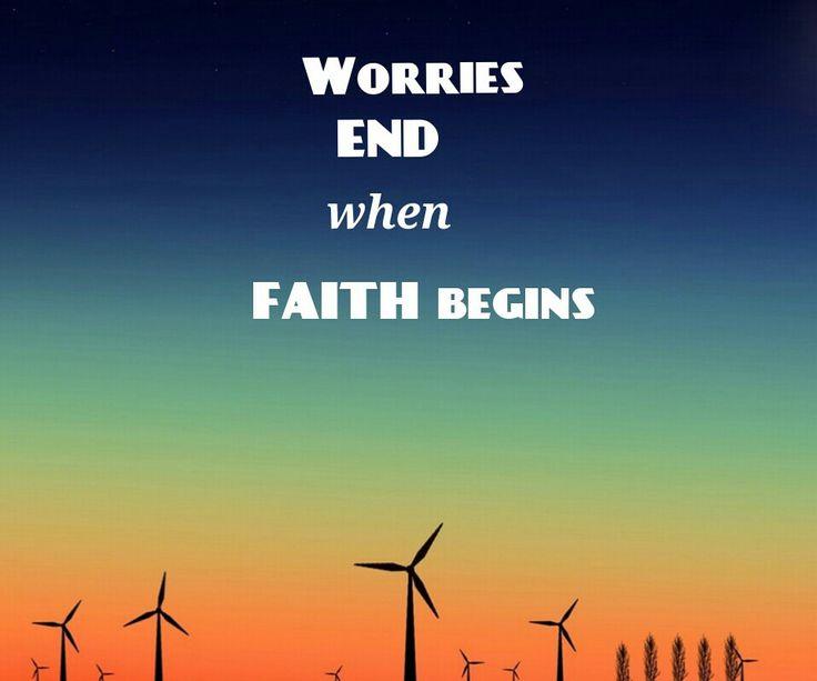 Have a faith!