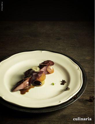 laurent et vincent folmer culinaria le canard au feu de bois avec carottes algues - Couisin En Bois Ehter