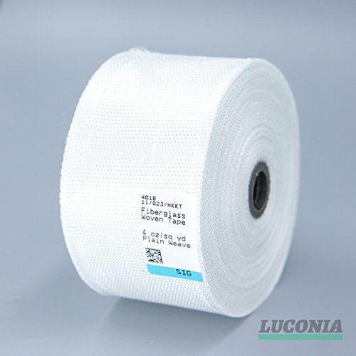 Rollo de tela de fibra de vidrio de clase E, diseño liso, de 50mm de ancho y 28m de largo #Rollo #tela #fibra #vidrio #clase #diseño #liso, #mm #ancho #largo