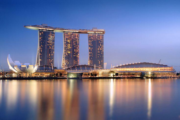 Marina Bay Singapur! :)