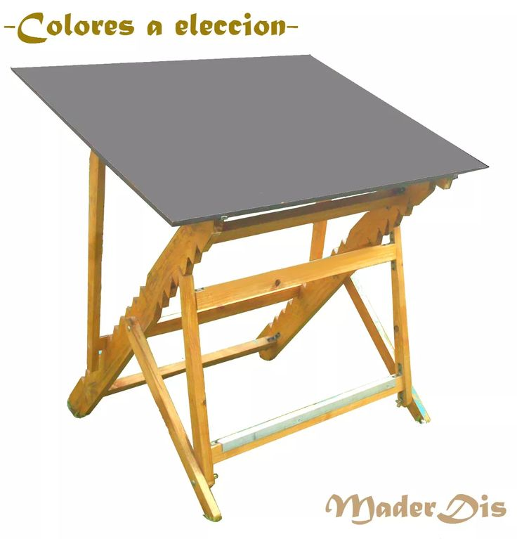 Escritorio mesa de dibujo planos tablero drafting desk desks and carpentry - Tablero escritorio ...