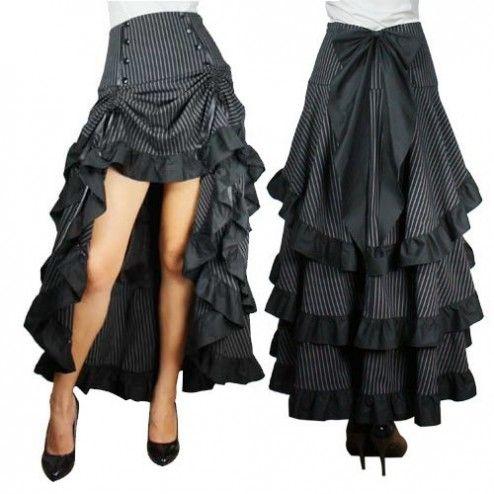 Star Peepshow Burlesque Skirt