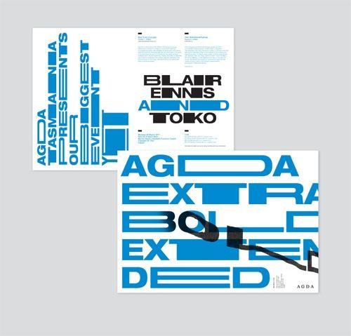 Design Envy · Agda Extra Bold Extended: Toko