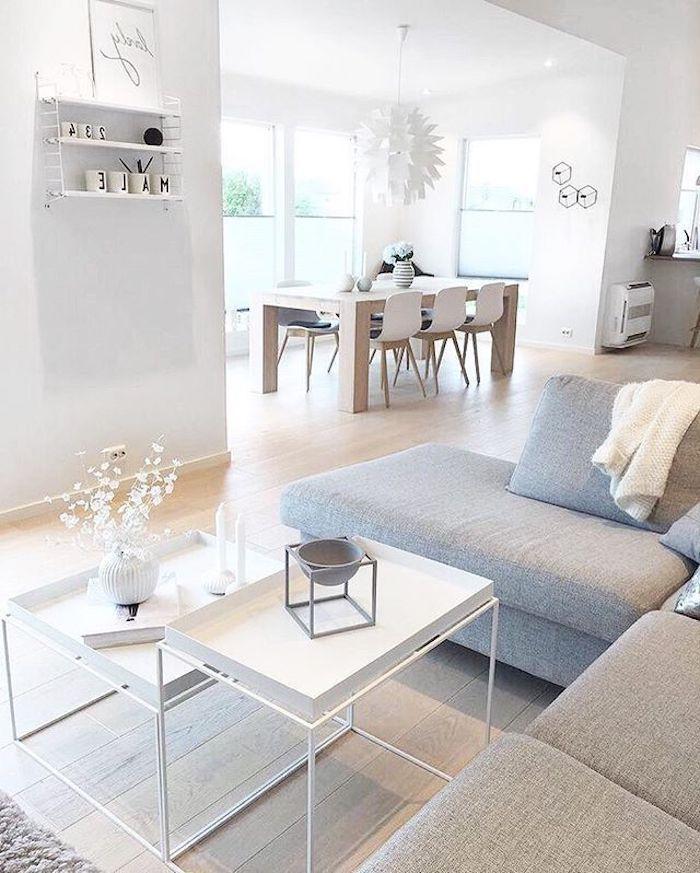 35++ Decoration salon moderne salle a manger trends