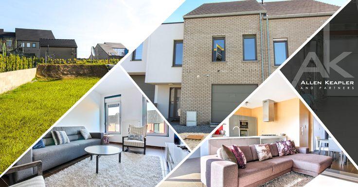 Splendide maison moderne et lumineuse à vendre à Grâce-Hollogne. Allen Keapler and Partners vous offre la possibilité d'acquérir cette grande maison 5 chambres de 2013 située dans un quartier résidentiel. Avec une superficie totale de 200 m², elle bénéficie au niveau technique d'un chauffage au sol au rez-de-chaussée et à l'étage de radiateurs, de châssis PVC triple vitrage avec volets partout et d'une installation électrique conforme. Elle dispose également d'une terrasse, d'un jardin et…