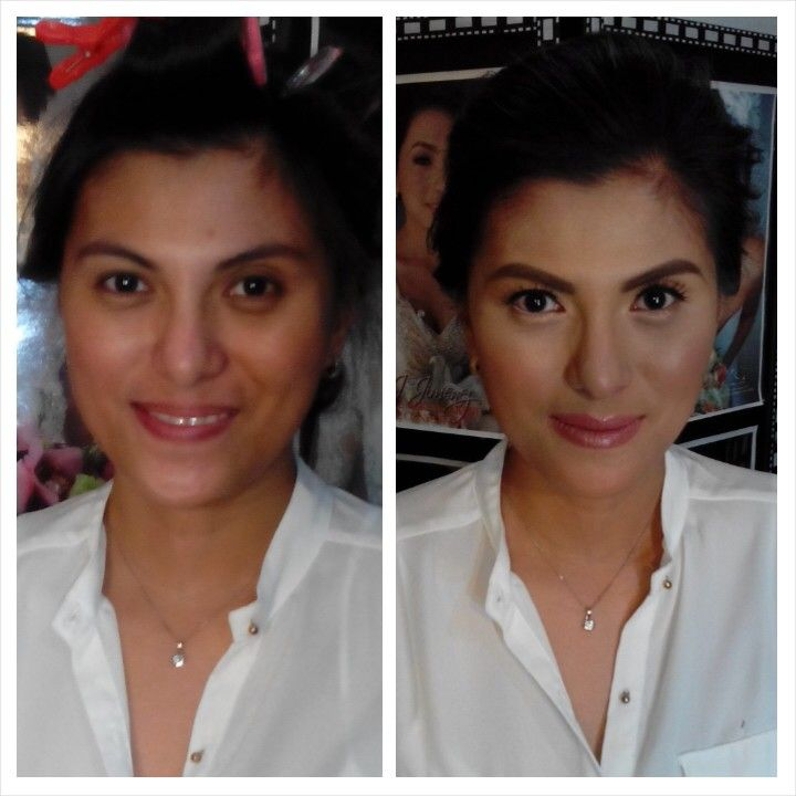Trial Make Up on going... Soon to be bride Collie  CJ Jimenez Make Up Team: 1. Exceptional Portfolio 2. Consistent, More than A Thousand, Unsolicited and Real Time Positive Clients Feedback 3. Numerous Credentials:  Pond's Beauty Ambassador (1 of only 16 HMUAs in the Philippines) Bridal Make Up Artist of the Year- Top Brands Most Sought After Supplier / Top Booker for HMUA category- Weddings and  Debut 2013 Image Consultant - Association of Image Consultants International -Philippine…