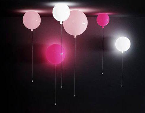 風船の照明。 Memory Balloon Lights - まとめのインテリア / デザイン雑貨とインテリアのまとめ。