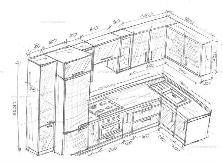 181 best Cuisines images on Pinterest Kitchens, Kitchen units and - espace entre plan de travail et meuble haut