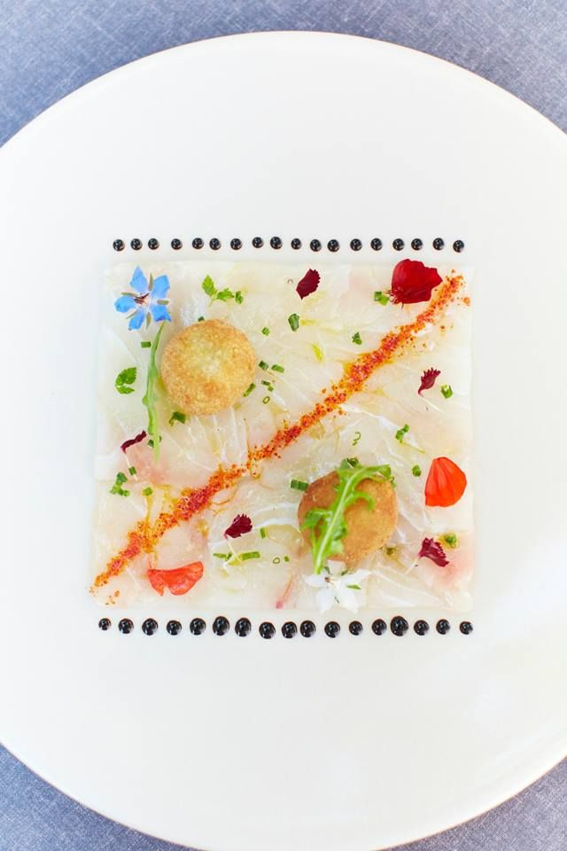 FOUR-The World's Best Food Magazine's Chef of the Day oversees the kitchens at a RelaisChateaux hotel at the foot of the Dentelles de Montmirail mountains in France.