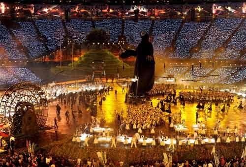 Londra 2012: la cerimonia d'apertura. FOTO - Immagini e Fotografia Olimpiche - Tutti i colori di Londra 2012 - Virgilio Sport