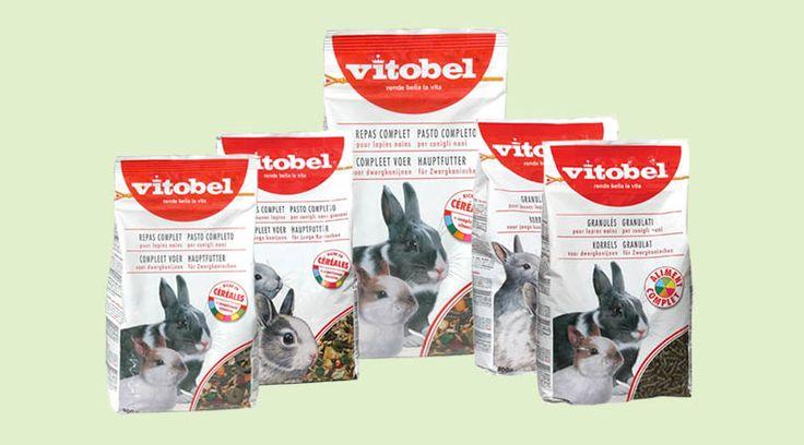Alimenti base Conigli: Vitobel Pasto Completo e Vitobel granulati!