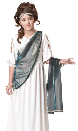 awesome California Costumes Roman Princess Child Costume