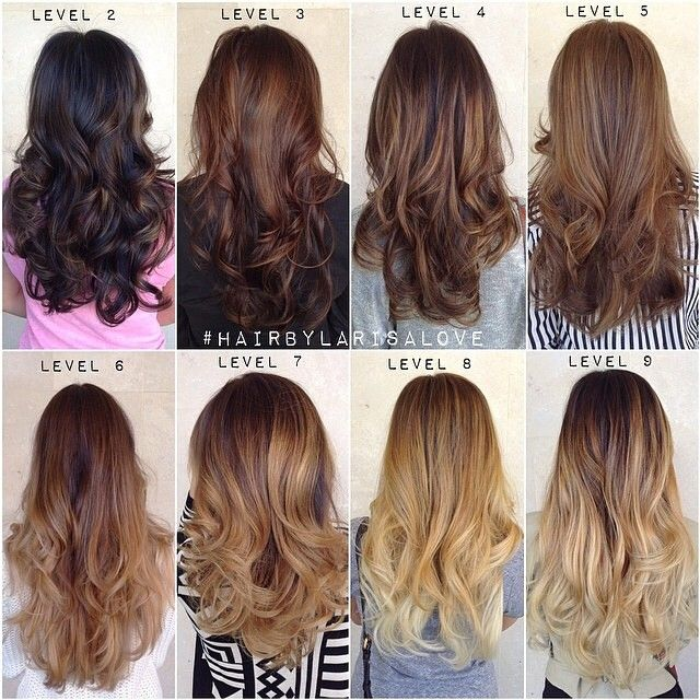 SnapWidget | Once again @larisadoll provides something helpful to the color world. Check out this level chart. Thanks #HairByLarisaLove