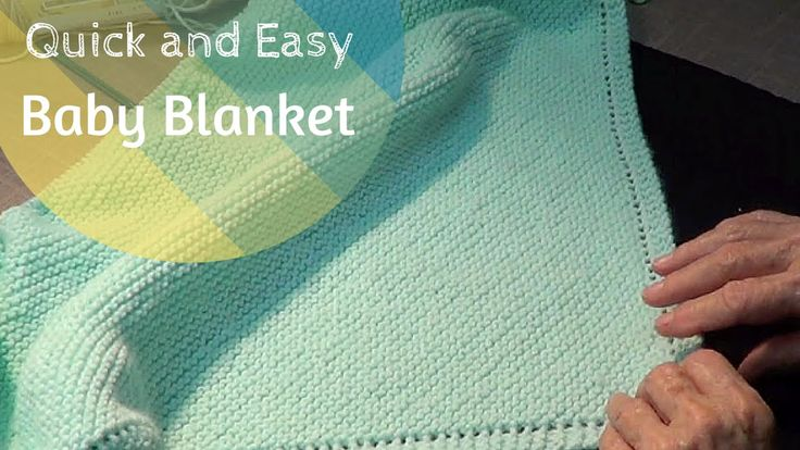 Quick And Easy Knitted Baby Blanket Patterns : 46 best images about KNITTINg BLANKETS on Pinterest Stitches, Ravelry and P...