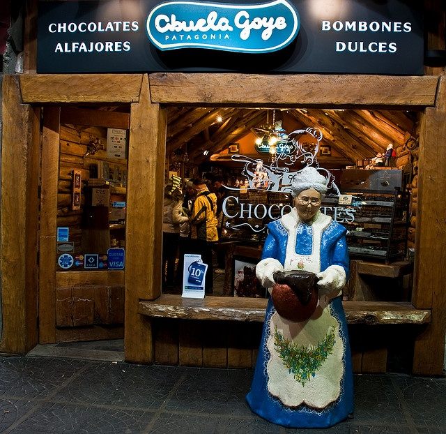 The best chocolates in the world! Bariloche, Argentina