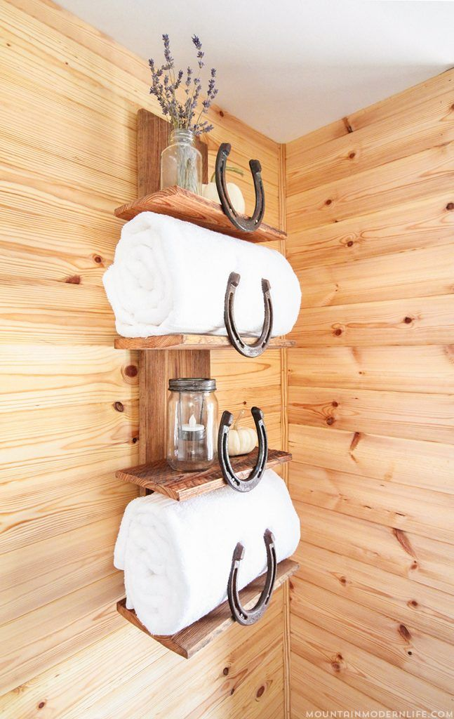 Photo Gallery Website  Rustic DIY Home Decor Projects Rustic Bathroom OrganizersBathroom