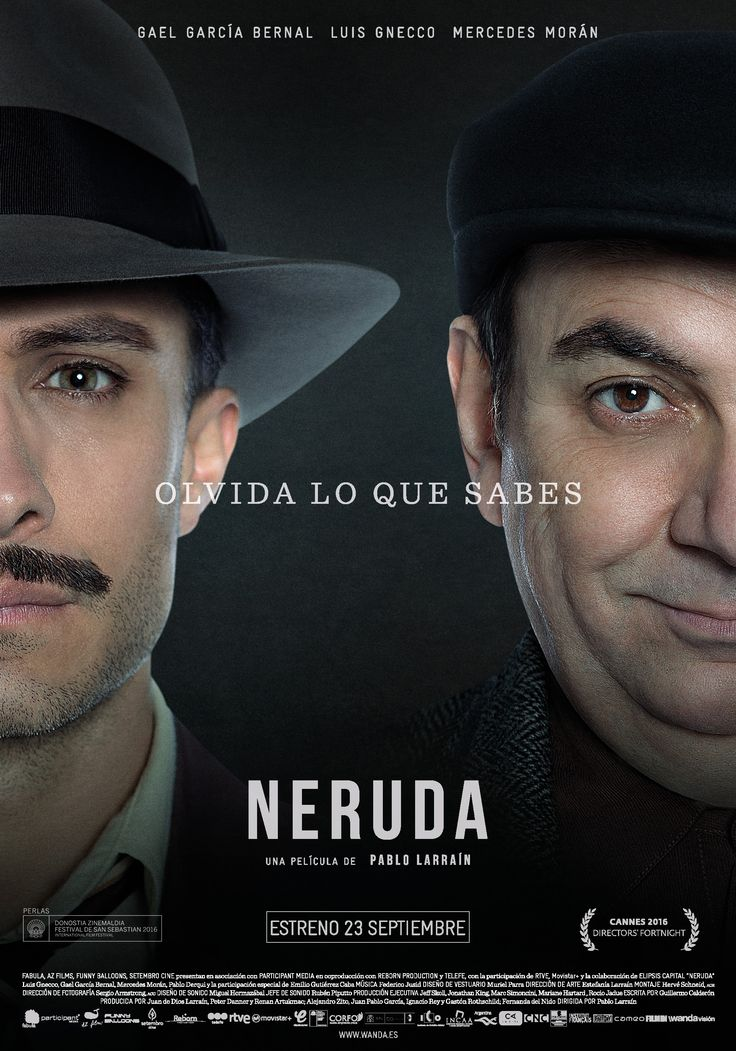 """15/10/2016 - """"Neruda"""""""