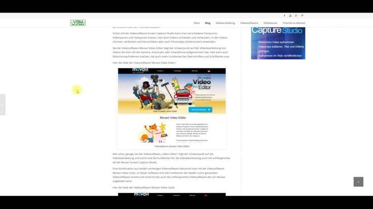 Video mit Infos zu 3 günstigen Videosoftware von Movavi #video #infos #videosoftware #movavi