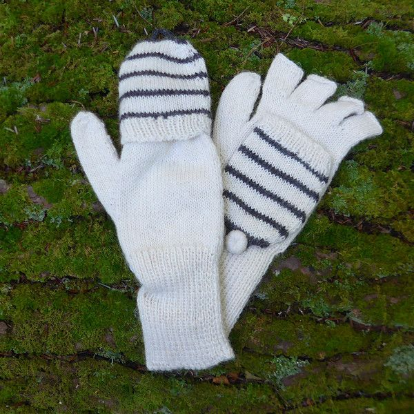 "Love these alpaca ""glittens""  (mitten/glove combination)!"