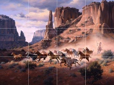 """""""SANDSTONE & STOLEN HORSES"""""""