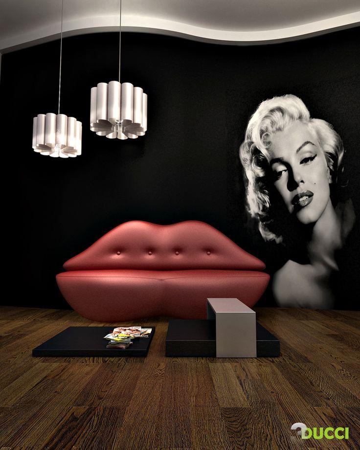 Image detail for -Marilyn Monroe room.... by ~aspa1984 on deviantART