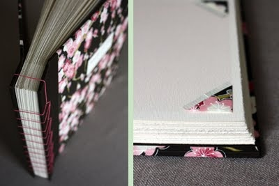 I made more than 300 photo corners by hand out of chiyogami paper as a decorative touch for a custom wedding photo album.