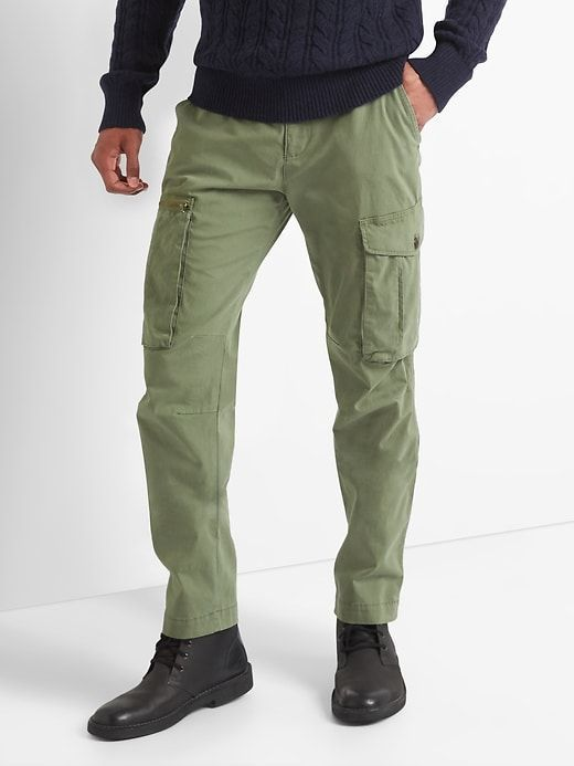 Gap Mens Slim Fit Cargo Pants Surplus