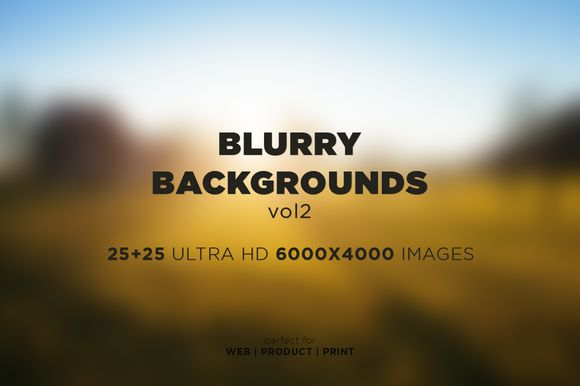 Check out Blurry Backgrounds [vol2] by MCh on Creative Market