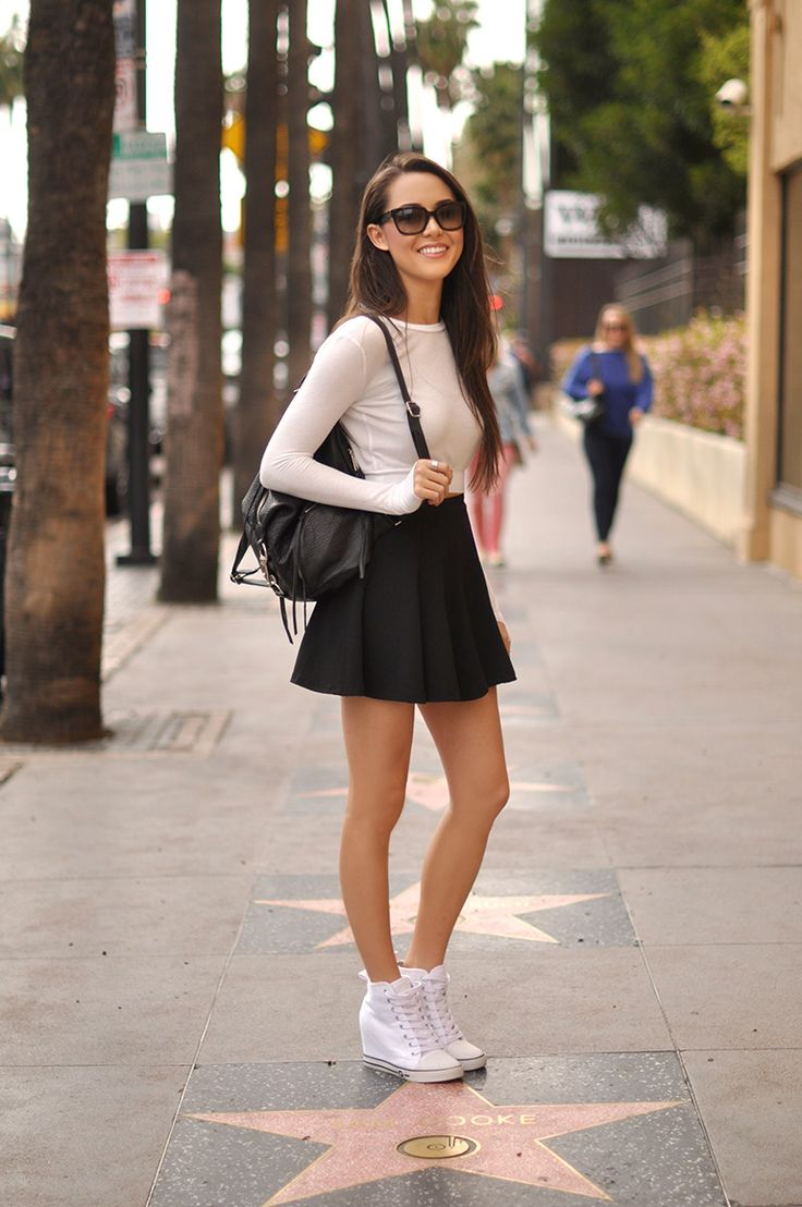 Hapa Time : Revolve Clothing top | Romwe Skirt | Guess ...