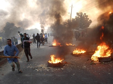 People in Bangladesh Protesting against the Injustice in the name of War Crimes Tribunal
