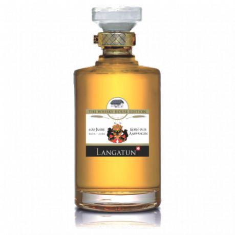 Produktion  Limitierte Abfüllung zum 400-Jahr Jubiläum des Kornhauses in Aarwangen, unserem Whisky-House. Destilliert am 3.11.2008, abgefüllt am 5.5.2016, ausgebaut in einem Fass aus französischer Eicher mit Chardonnay-Vorbelegung.