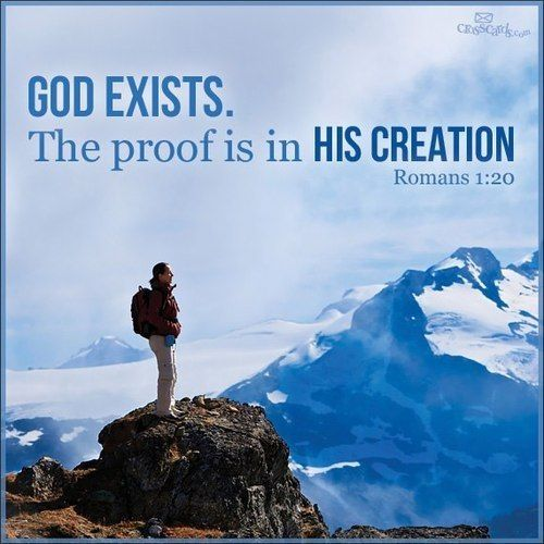 """God Says Love: """"For Since The Creation Of The World His Invisible"""